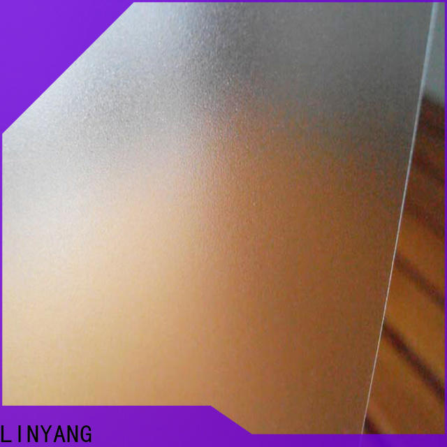 LINYANG translucent Translucent PVC Film from China for shower curtain