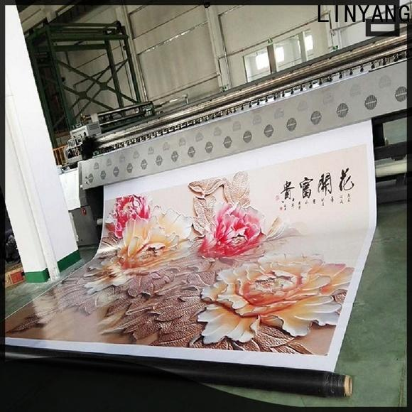 LINYANG flex banner design supplier for importer