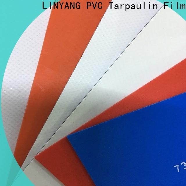 LINYANG heavy duty pvc coated fabric supplier for truck cover