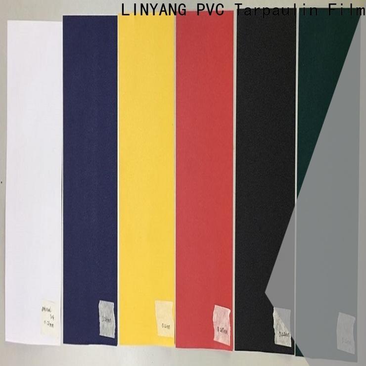 LINYANG pvc film manufacturer