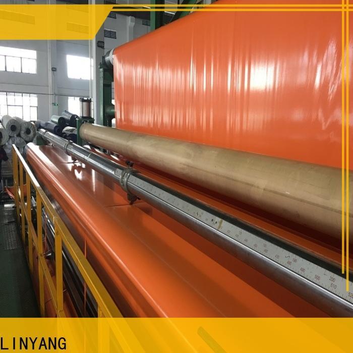 LINYANG high quality pvc coated tarpaulin design