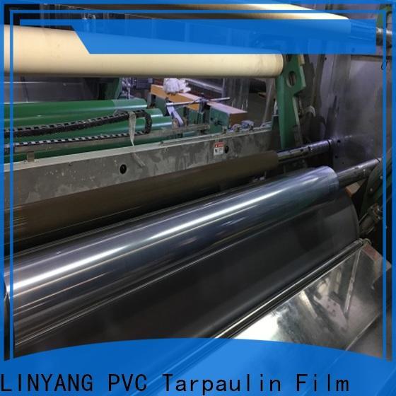 LINYANG clear pvc film wholesale