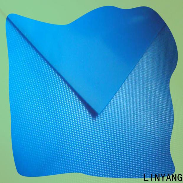 LINYANG pvc pvc film roll factory price for raincoat