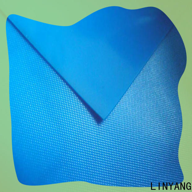 LINYANG pvc pvc film roll factory price for raincoat