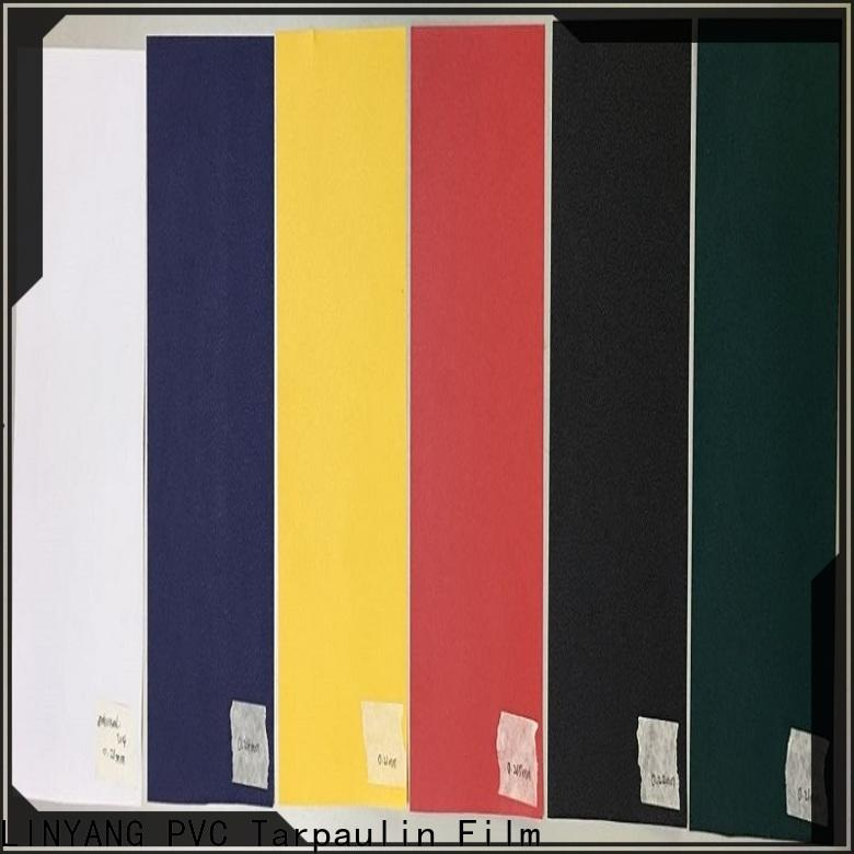 LINYANG hot selling pvc film inquire now for handbags