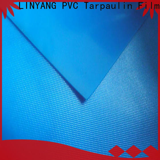 LINYANG normal pvc plastic sheet roll supplier for raincoat