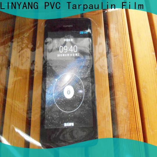 transparent Transparent PVC Film film factory for handbags membrane