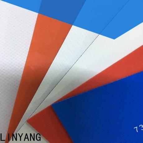 LINYANG mildew resistant heavy duty tarpaulin design for geotextile