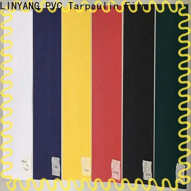 LINYANG waterproof pvc film from China for handbags