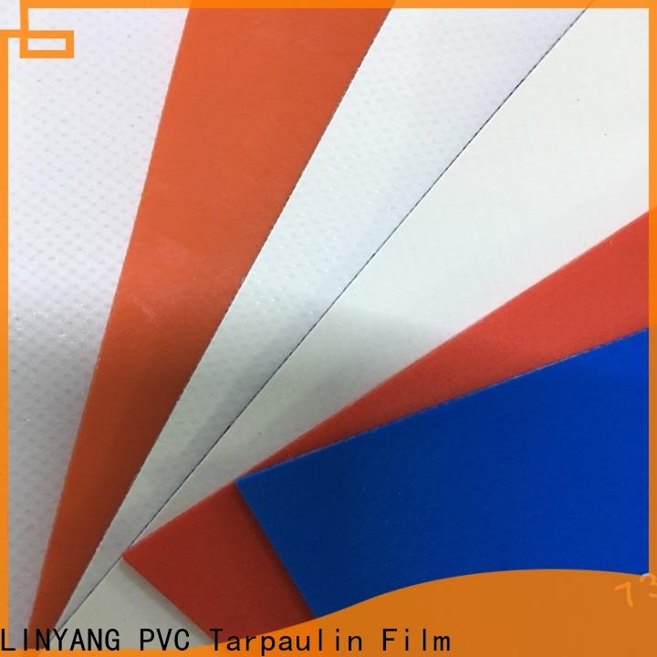 LINYANG heavy duty pvc coated fabric factory for outdoor