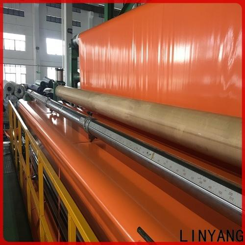 LINYANG affordable pvc coated tarpaulin one-stop services