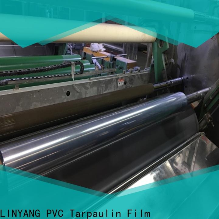 LINYANG oem odm clear pvc film from China