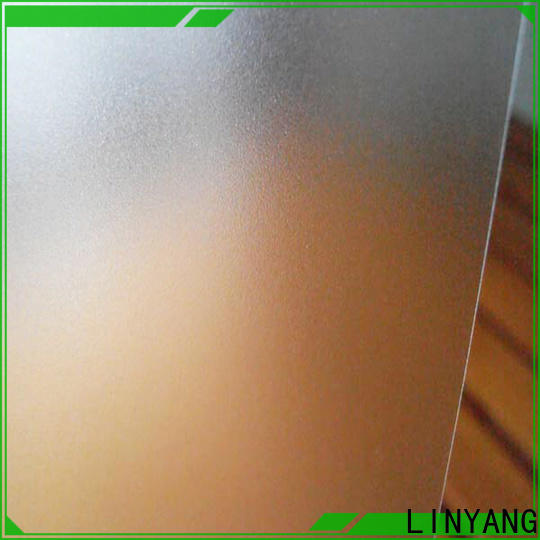 LINYANG antifouling Translucent PVC Film personalized for plastic tablecloth