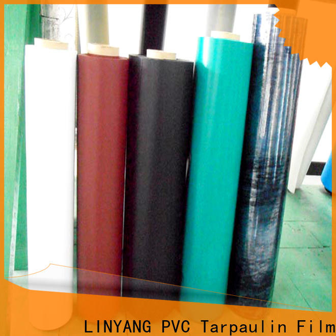 LINYANG hot selling inflatable pvc film factory for aquatic park