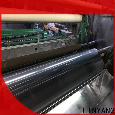 LINYANG clear plastic film from China