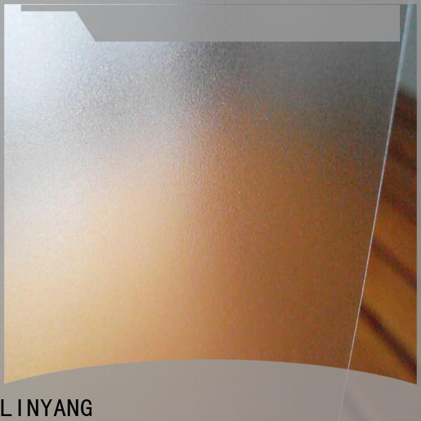 LINYANG film Translucent PVC Film from China for umbrella