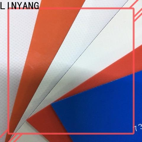 LINYANG heavy duty pvc tarpaulin supplier for truck cover