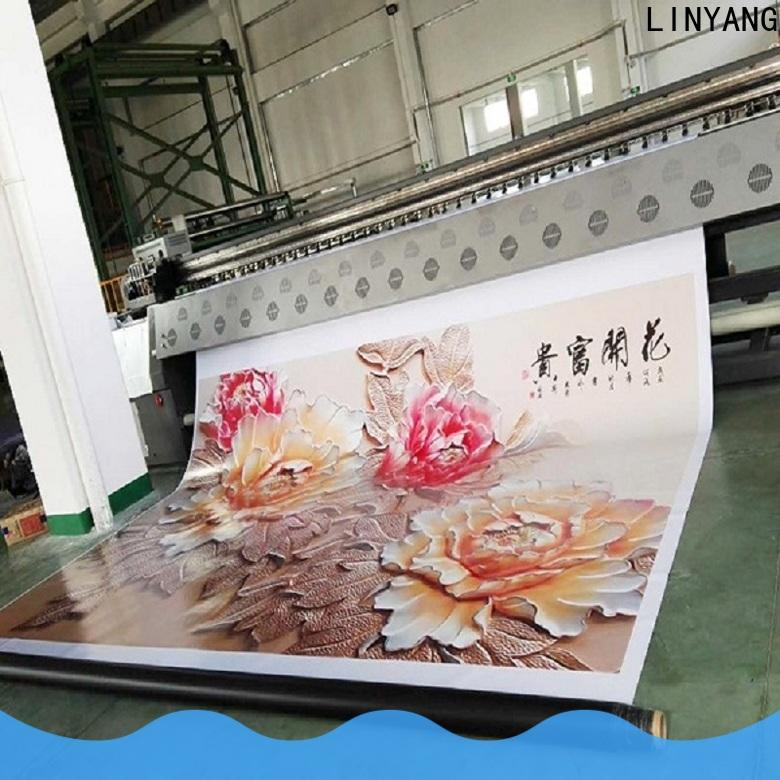LINYANG custom banners factory for advertise