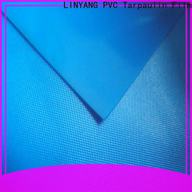 LINYANG anti-UV pvc plastic sheet roll factory price for umbrella