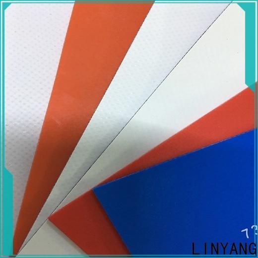 LINYANG tensile waterproof tarpaulin supplier for geotextile