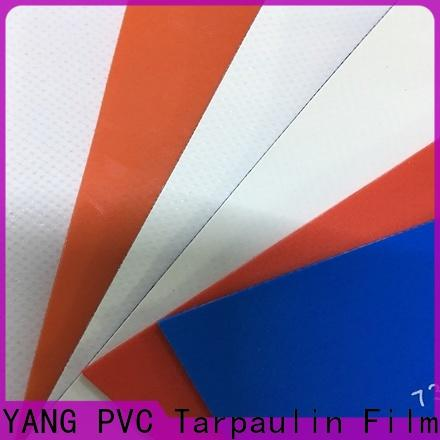 LINYANG PVC Tarpaulin fabric manufacturer for truck cover