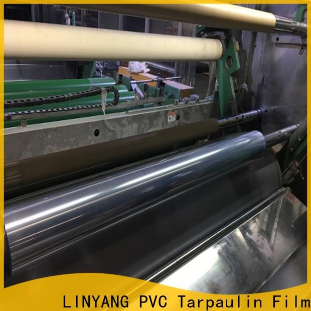 LINYANG clear pvc film factory