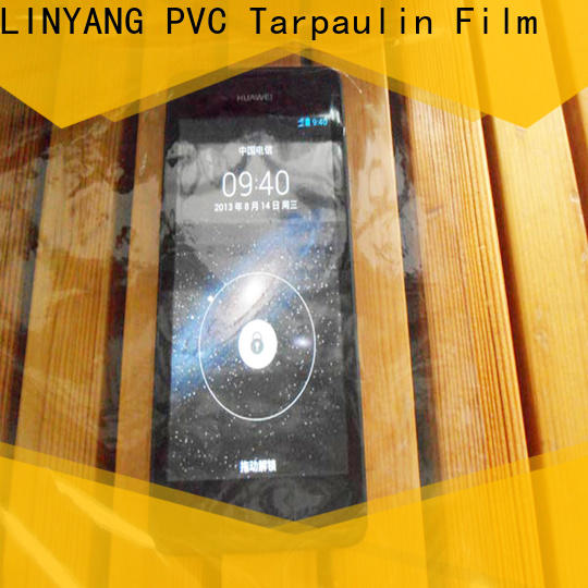 waterproof Transparent PVC Film transparent wholesale for industry