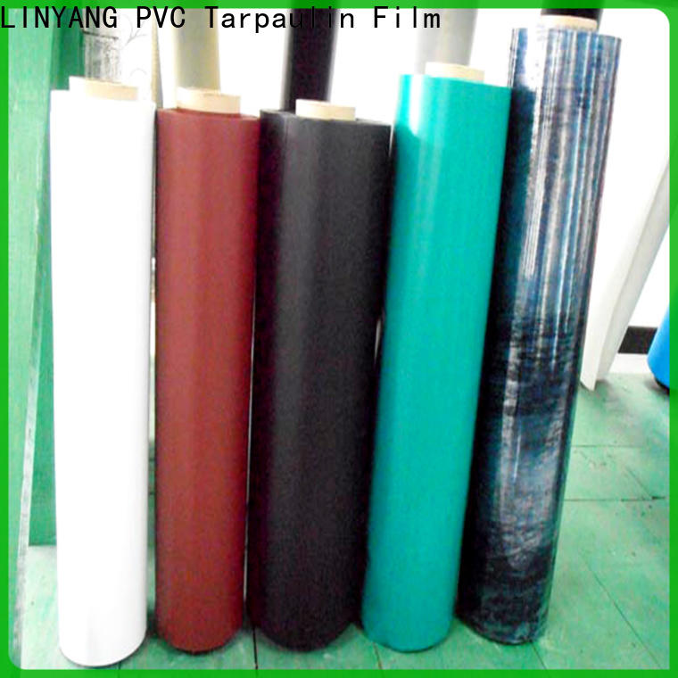 LINYANG finely ground inflatable pvc film customized for swim ring
