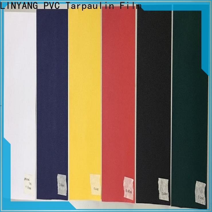 LINYANG best pvc film manufacturer for handbags