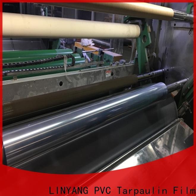 LINYANG custom clear plastic film manufacturer