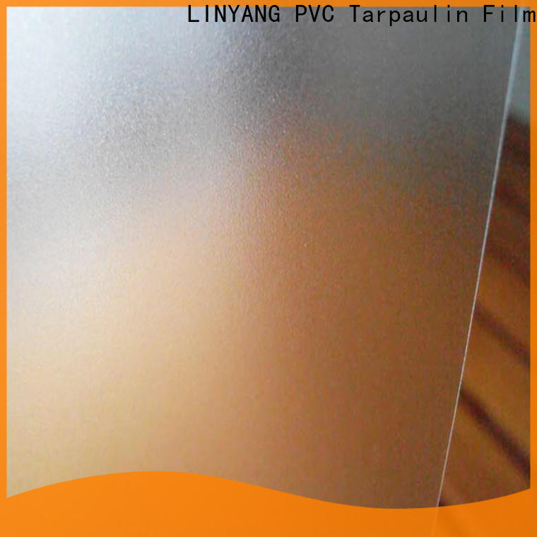 LINYANG film pvc film eco friendly directly sale for raincoat