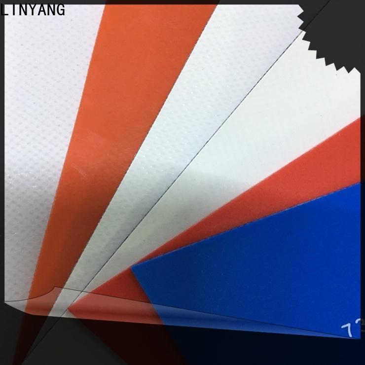 mildew resistant heavy duty tarpaulin tear supplier for advertising banner