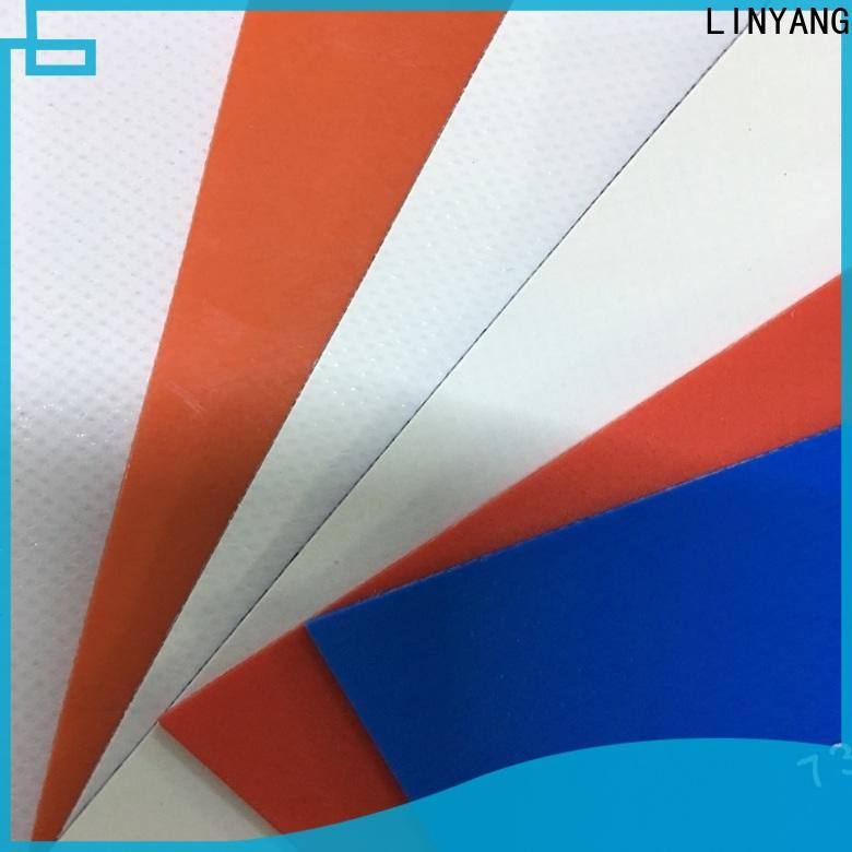 LINYANG heavy duty pvc tarpaulin manufacturer for sale