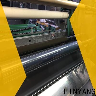 LINYANG clear pvc film manufacturer