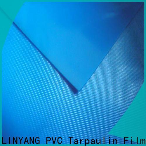 LINYANG antifouling pvc film roll series for umbrella
