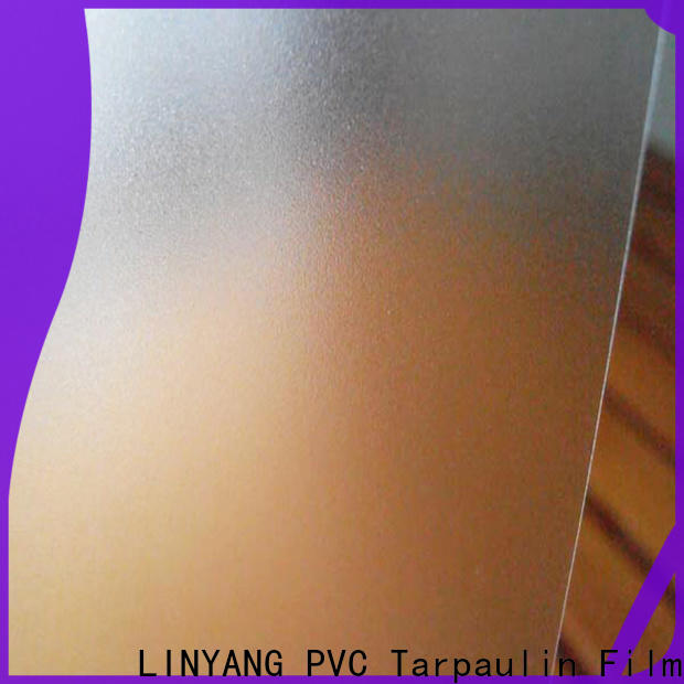 LINYANG pvc Translucent PVC Film manufacturer for umbrella