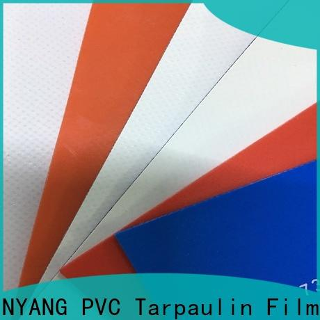 LINYANG heavy duty PVC Tarpaulin fabric factory for truck cover