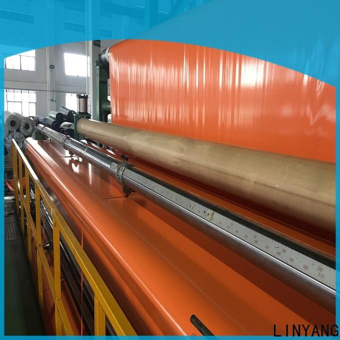 LINYANG pvc coated tarpaulin one-stop services