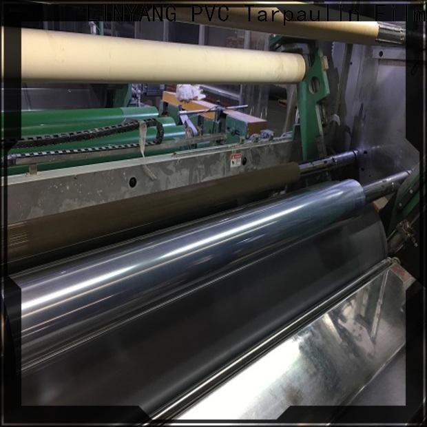 LINYANG custom clear pvc film factory