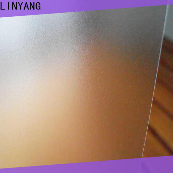 LINYANG translucent pvc film eco friendly directly sale for raincoat