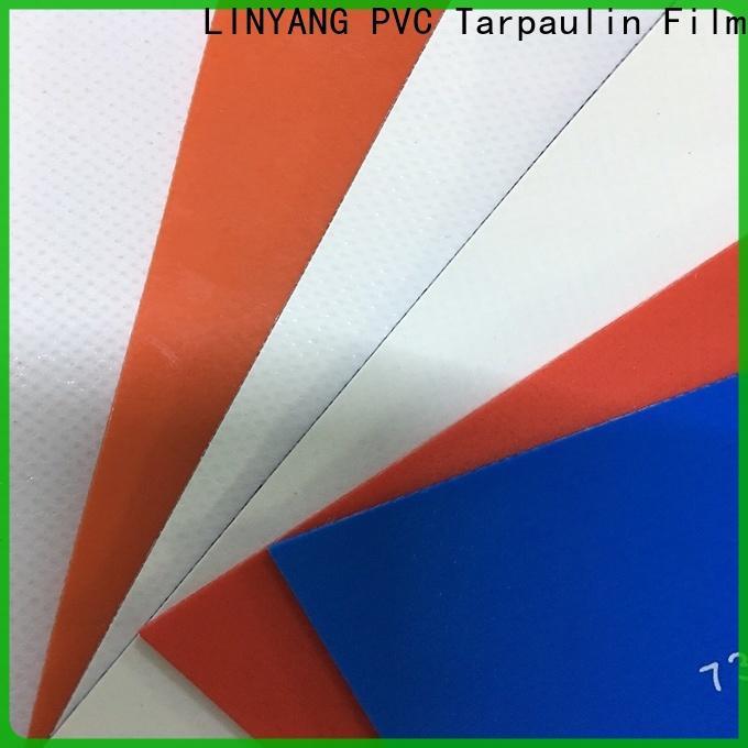 LINYANG waterproof tarpaulin film series for advertising banner