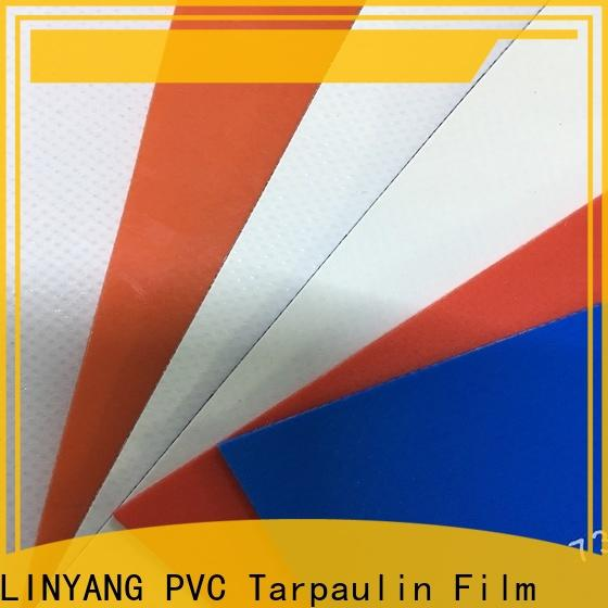 LINYANG heavy duty PVC Tarpaulin fabric manufacturer for sale