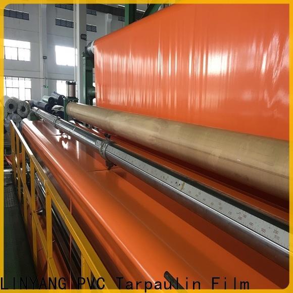 LINYANG high quality pvc coated tarpaulin manufacturer