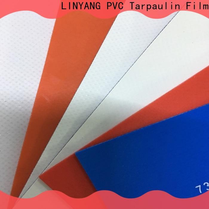 LINYANG tensile heavy duty tarpaulin supplier for advertising banner
