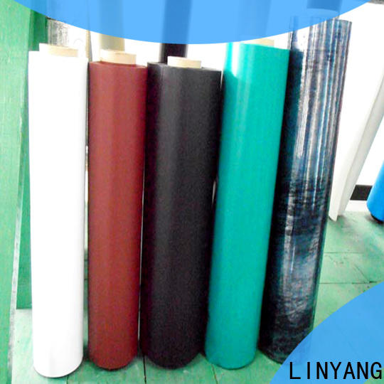 LINYANG tensile inflatable pvc film with good price for inflatable boat