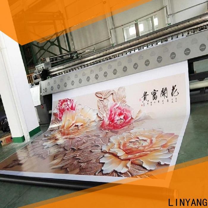 LINYANG custom flex banner design manufacturer for outdoor