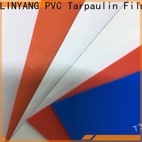 LINYANG PVC Tarpaulin fabric factory for sale