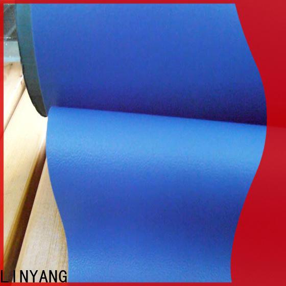 LINYANG waterproof Decorative PVC Filmfurniture film factory price for handbags