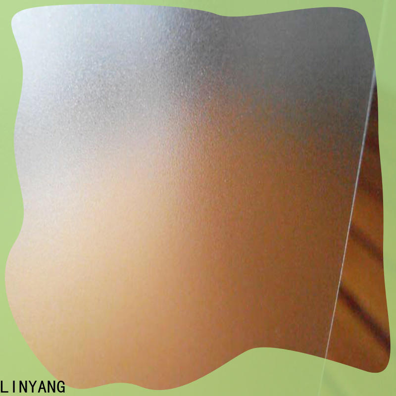 LINYANG translucent pvc film eco friendly directly sale for shower curtain