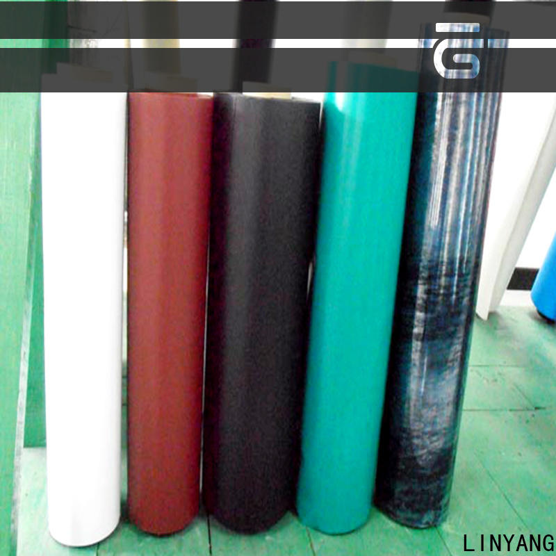 LINYANG antifouling inflatable pvc film wholesale for outdoor
